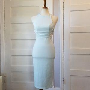 Asos Cutout Bodycon Midi Dress, Size 4